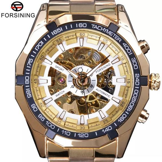 Relógio Masculino Forsining + Brinde