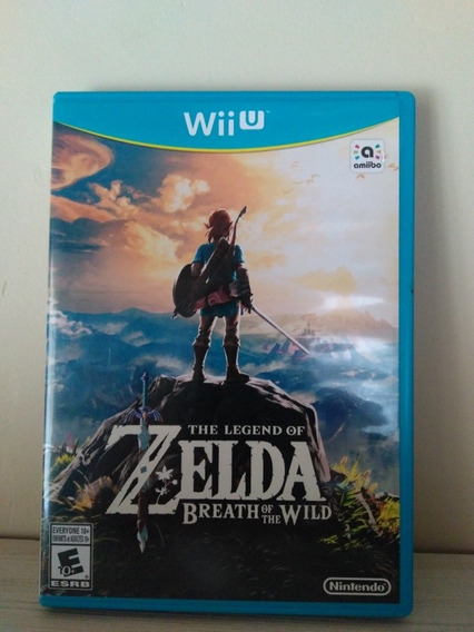 Zelda Breath Of The Wilde Para Nintendo Wiiu