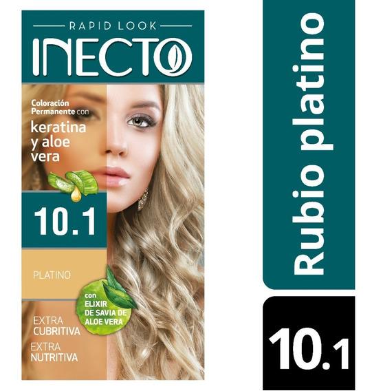 Kit De Tintura Inecto Rubio Platino Nº 10,1