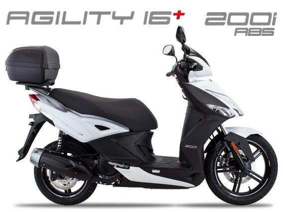Kymco Agility 200 Abs 0km 2019/2020 Branca