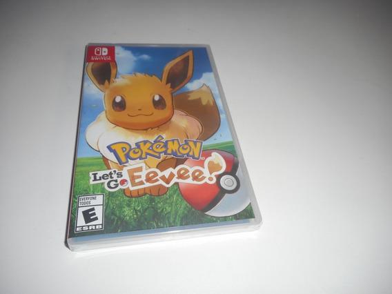 Pokémon Let´s Go Eevee! Nintendo Switch Mídia Física Lacrado