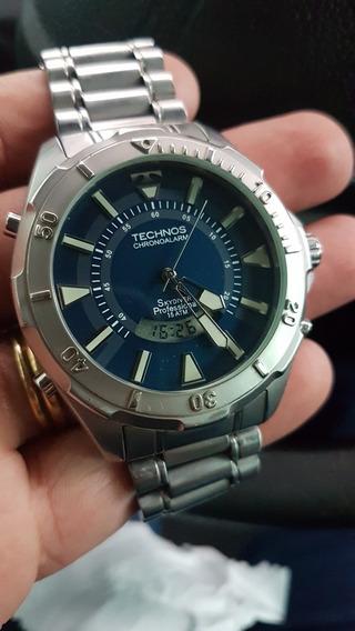 Relógio Technos Skydiver 50mm = Orientstar = Lanco =lincoln