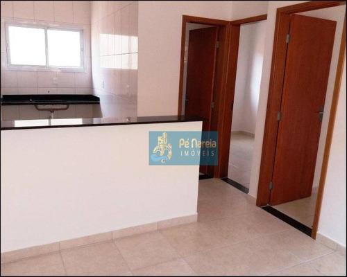 Casa Com 2 Dormitórios À Venda Por R$ 145.000,00 - Vila Sônia - Praia Grande/sp - Ca0068