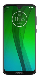 Moto G7 Dual SIM 64 GB Ceramic black 4 GB RAM