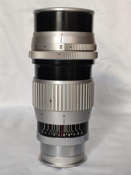 Lente Peerotar 135mm 2.8 12 Láminas Montagem M42 Dslr