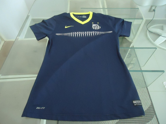 Camisa Do Santos Nike Iii - 2013 / 2014 Feminina - ( 645 )