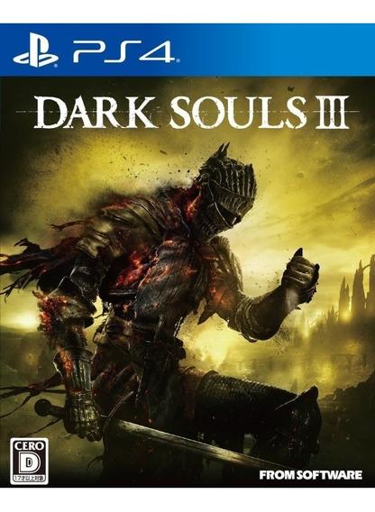 Dark Souls Iii 3 Ps4 Mídia Física Novo Em Português Lacrado