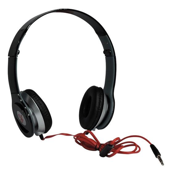 Fone Headphone Estéreo Ro - Preto