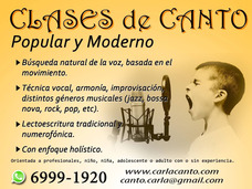 Clases De Canto Individuales