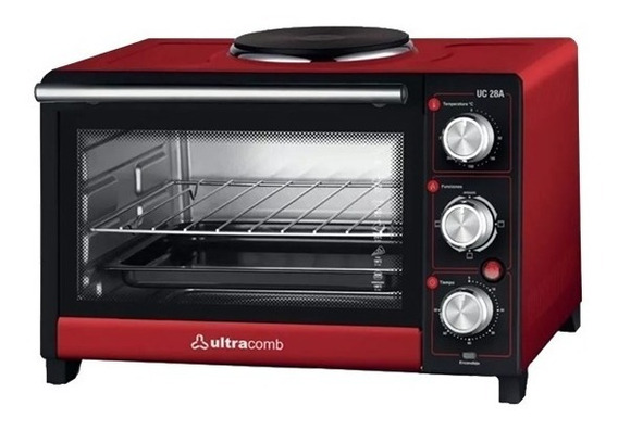 Horno Electrico Ultracomb Uc28a 28lts C/anafe