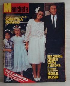 Revista Manchete De 1984 - Michael Jackson/xuxa/milton