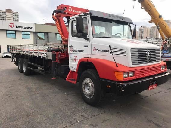Caminhão M.benz L 2318 6x2 Guindaste Madal 1994
