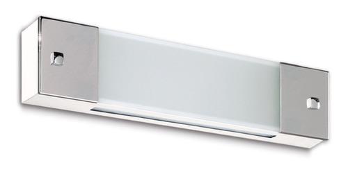 Aplique Luz De Pared/techo Ideal Baño C/lamp. Led 20w =150w