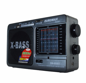 Radio Portatil Sd Usb Radio Am/fm