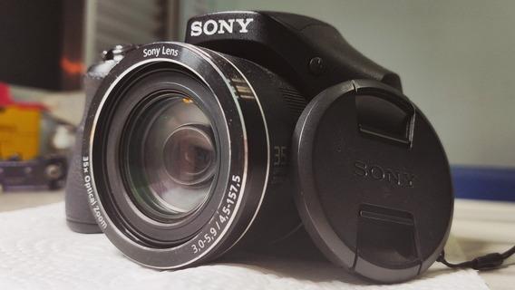 Câmera Sony Dsc-h300 - Semi-profissional - Seminova