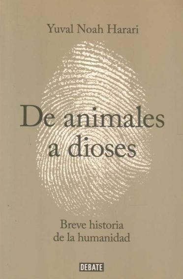 Libro: De Animales A Dioses / Yuval Noah Harari