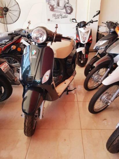 Corven Expert 150 Milano -retro-