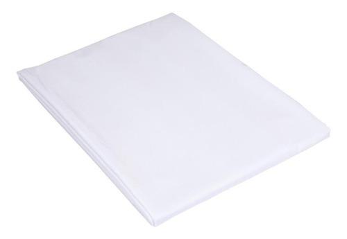 Lençol Teka Queen Branco Percal 180 Fios - Madri