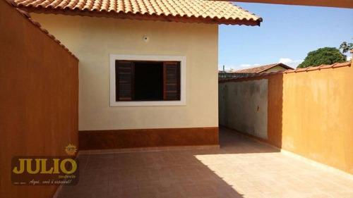 Entrada R$ 85 Mil E Assumi Mensais De R$ 800! Casa Com 2 Dormitórios, 60 M² Por R$ 209.000 - Jardim Suarão - Itanhaém/sp - Ca3434