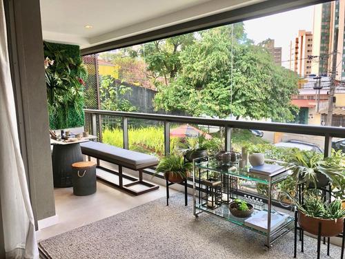 Apartamento Alto Padrão 140 Metros 3 Suítes 2 Vagas Lazer Completo 550 Metros Metrô Ana Rosa - Entrega - 15148