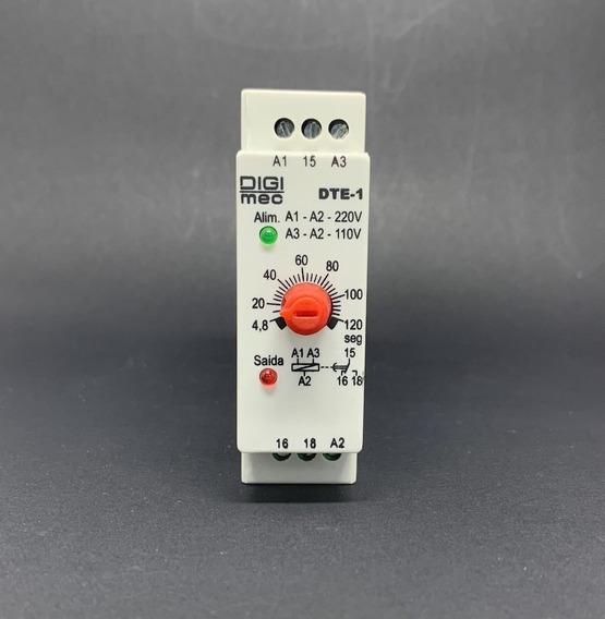 Temporizador Dte-1 60seg. 110-220v Digimec W
