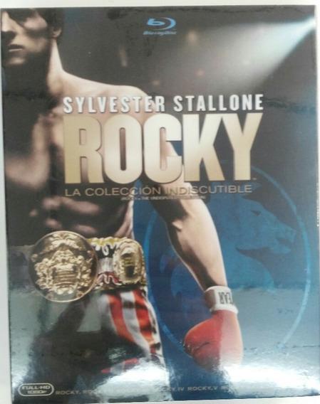 Rocky La Coleccion Indiscutible Blu Ray