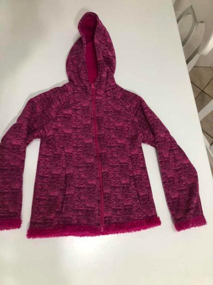 Jaqueta Lã Forrada Com Pelos Menina 6 Anos Importada