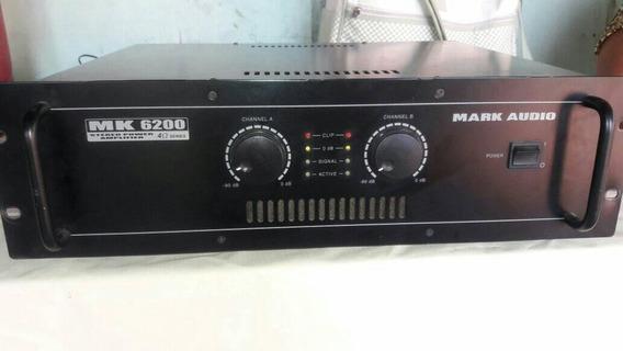 Vende Se Uma Potencia Da Linha Mk Mark Audio Mk 6200 Muito N
