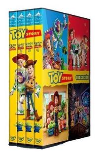 Trilogía Toy Story Saga Completa Dvd