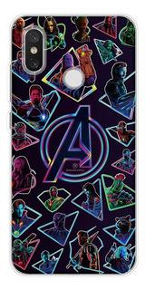 0fsuipia - Para Xiaomi Mi 5s - Marvel Avengers Comics Soft T