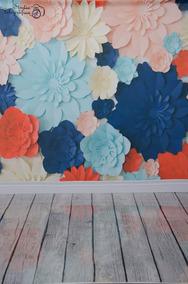 Fundo Fotográfico Floral