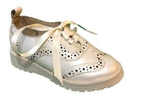 Hermoso Zapato Bostoniano Para Niña Dos Colores Envío Gratis