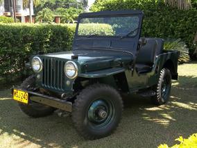 Willys 1950 Clásico. Original. Perfecto Estado
