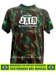 Bolsonaro Camisa Camuflada É Melhor Jair Se Acostumando