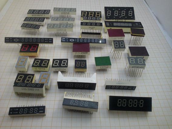 Display. Varios Modelos Para Projetos. Kit Com 36 Peças