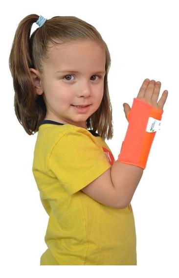 Inmovilizador De Muñeca Infantil Naranja