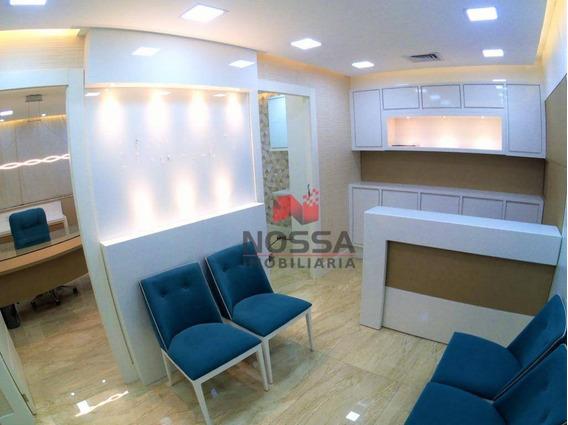 Sala Com 45 M² Na Enseada Do Suá - Vitória/es - Sa0019
