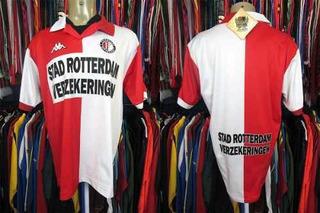 Feyenoord 2000 Camisa Titular Tamanho G.