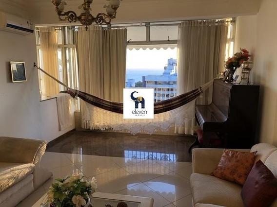Apartamento Residencial Para Locação Graça, Salvador 3 Dormitórios Sendo 1 Suíte, 1 Sala, 3 Banheiros, 4 Vagas 150,00 M² Útil - Vista Mar - Ap03083 - 34445251