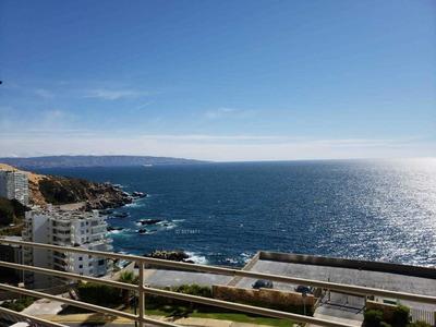 Costa De Montemar, Cocina Cerrada Con Espectacular Vista Despejada Y Asegurada, Excelente Estado.