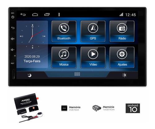 Multimidia Universal Aikon 2g Ram Android Tv Câm.ré+ Front