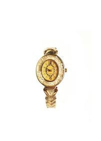Relógio De Pulso Analógico Vestaria Pedrinhas Feminino
