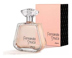 Perfume Fernanda Souza Colônia Feminina Jequiti 100 Ml