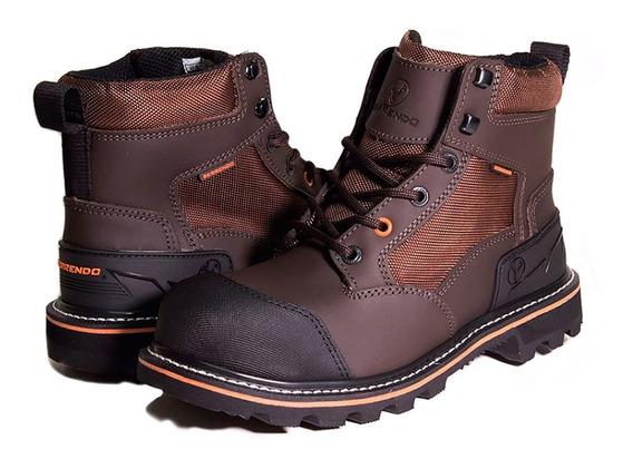Zapatos Hombre Piel Estilo Bota Corta 3-180 Berrendo