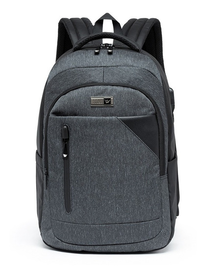Mochila Hang Loose Executiva Notebook Masculina Reforçada