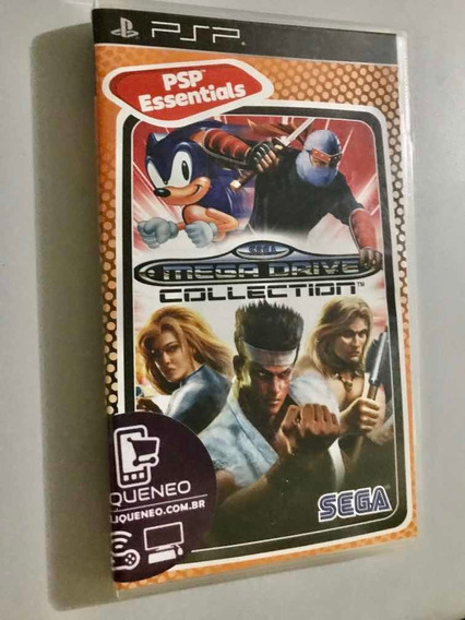 Sega Mega Drive Collection -psp