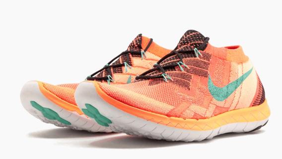 Wmns Nike Flyknit Free 3.0 Fl Running Championes Mujer