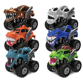 Joyin Joyin Toy 6 Pack Monster Friction Vehículos