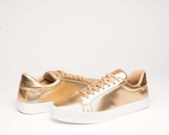 New York 140 Metalico Oro Golden Rush