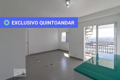 Apartamento No 13º Andar Mobiliado Com 2 Dormitórios E 2 Garagens - Id: 892919487 - 219487